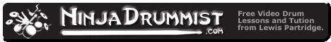 Ninja Drummist Banner