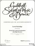 My Grade 8 Certificate