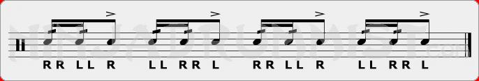 Open Five Stroke Roll