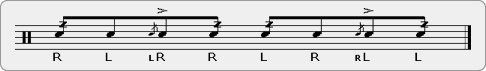 Bee Report Rudiment Sheet Music