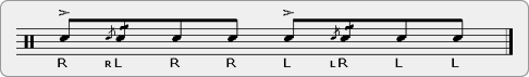 Cheese Berger Rudiment Sheet Music