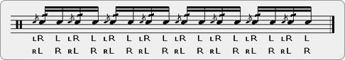 Cheese-Single Rudiment Sheet Music