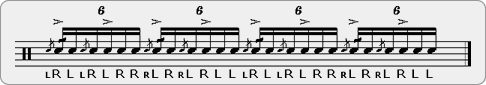 Cheesea Flamacue-Diddle Rudiment Sheet Music