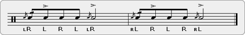 Cheeseacue Rudiment Sheet Music