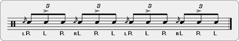 Chutuddas Rudiment Sheet Music