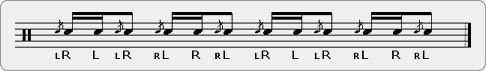 Flam-a-Flam Rudiment Sheet Music