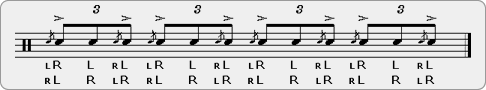 Flam Invention 1 Rudiment Sheet Music
