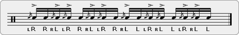 Flam Muppets Rudiment Sheet Music