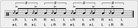 Flam Tap Paradiddle-diddle