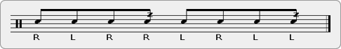 Parabuzzle Rudiment Sheet Music