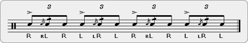 Tu-Cheese Rudiment Sheet Music