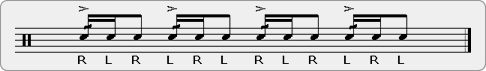 Zigiddy Bops Rudiment Sheet Music