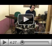 View Video Lesson - Brandy - Happy (Drum Cover)