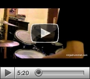 View Video Lesson - Blackstreet - Don't Leave Me Gerald Heyward (Drum Cover)