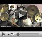 View Usher - Nice & Slow (Drum Cover)